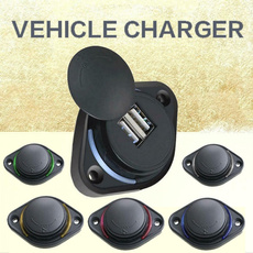 led, dualusbchargeroutlet, Cars, buschargersocket