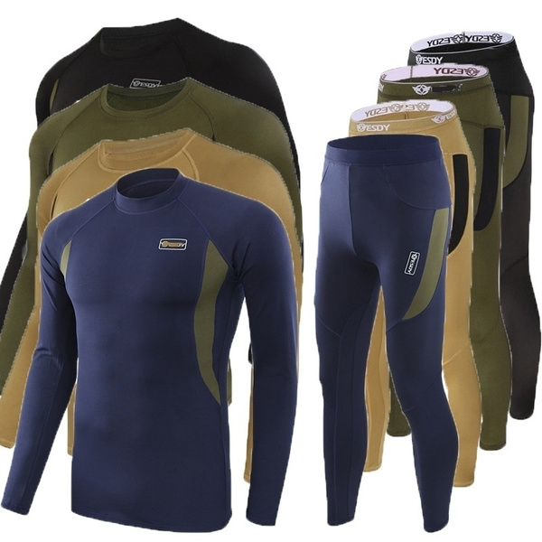 Men, quickdryshirt, Long Sleeve, tacticalunderwear