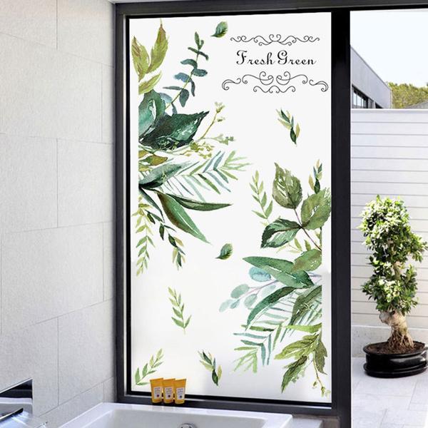 Plants, wallpapersticker, leaf, Waterproof