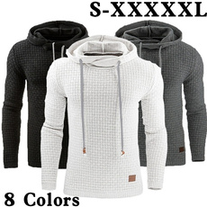 Plus Size, hooded, Invierno, Long Sleeve