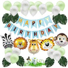 babybirthdaypartydecoration, cartoonanimalballoon, boybirthdayballoon, Animal