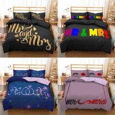 Fashion, couplebeddingset, Bedding, Home textile