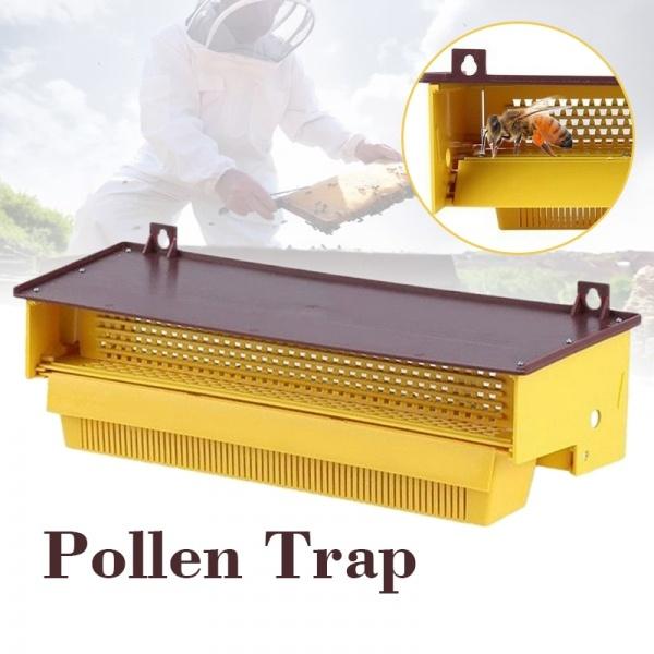 beekeeping, apiculture, plasticpollentrap, pollencollector