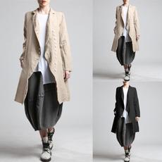 autumnwinterwomen, cardigan, women coat, Long Coat