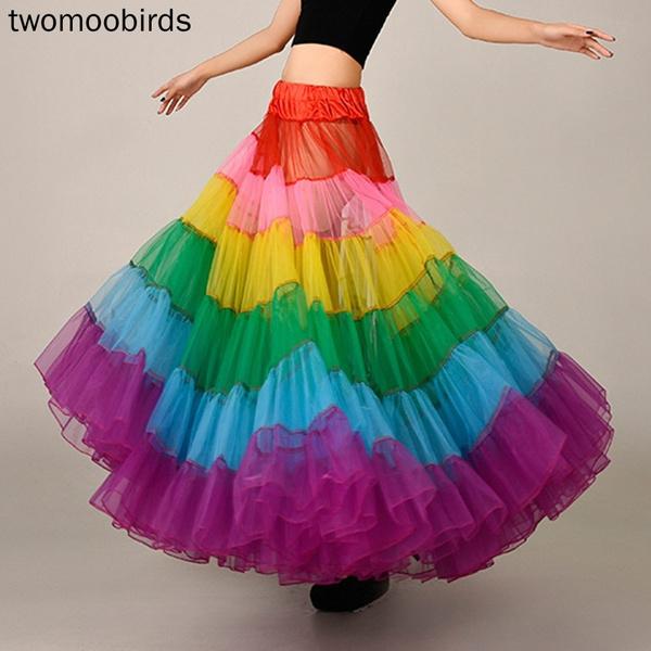 long skirt, Fashion, Colorful, Dress