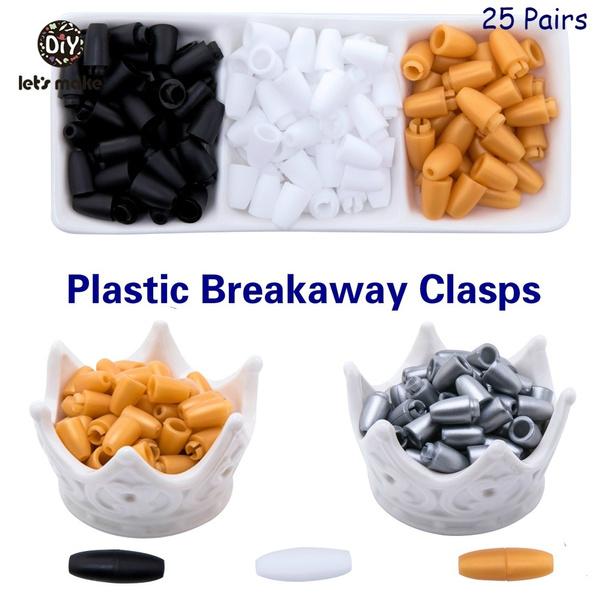Plastic, necklaceclap, safetybuckle, plasticclasp