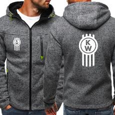 Fleece, Fashion, hooded, kenworthtruck