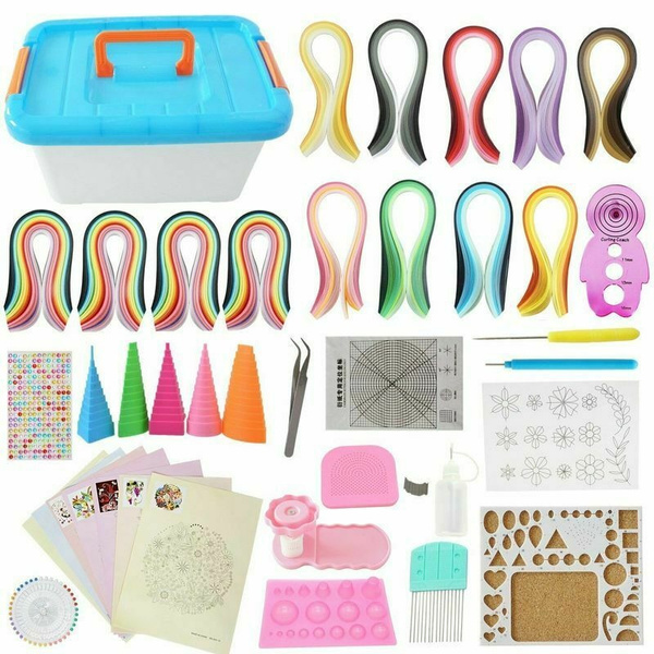 Box, handcraftsmaking, quillingpaperset, Tool