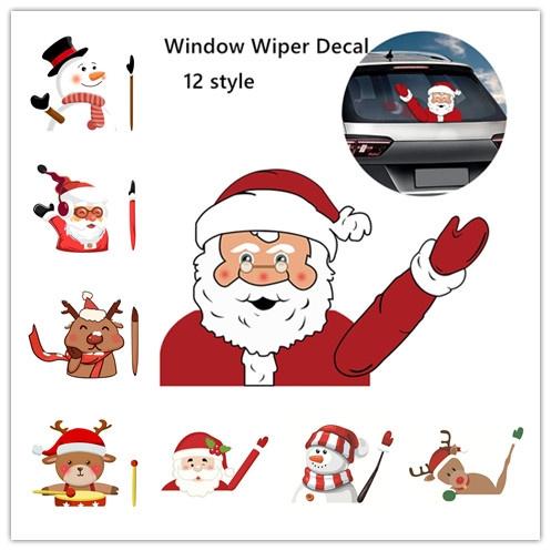 carv8sticker, windowsticker, Christmas, cute