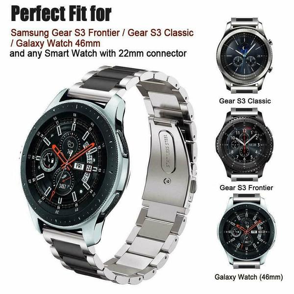 Steel, Stainless, Samsung, samsungwatchband