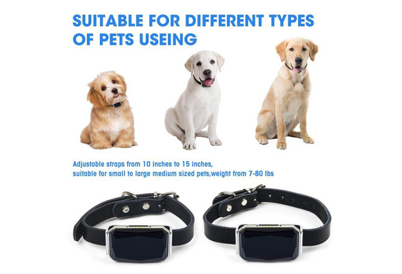 Pet Locator GPS Tracker,Anti-lost Multi Positioning Long-time Standby Smart Monitoring IP67 Waterproof Level D35 Keep Dog//Cat Safe