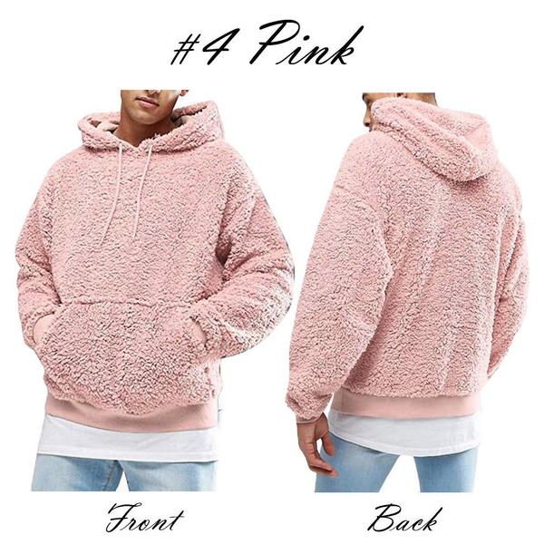 Men's Hoodies & Sweatshirts, hooded, fluffy, Men