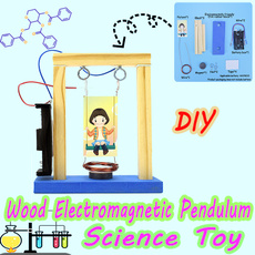 Science, assembling, physicalexperiment, Wooden
