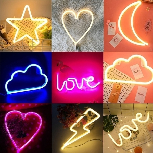 decoration, Night Light, Christmas, Love