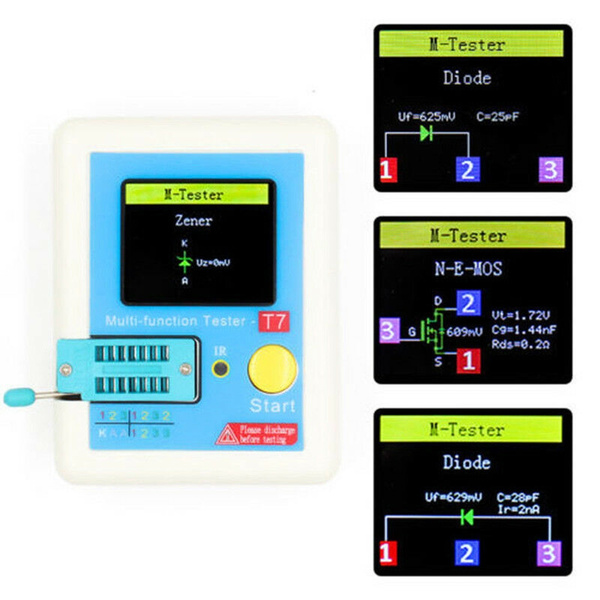tester, diode, Durable, transistor