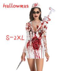 Zombies, collar slim, Fashion, sleeve dress