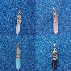 quartz, gemstonenecklace, Jewelry, Crystal