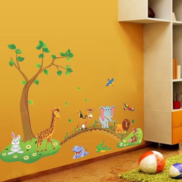 PVC wall stickers, animalswallsticker, Home Decor, Waterproof