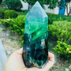 quartz, Natural, wand, Point
