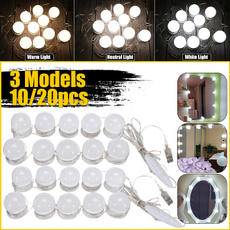 Makeup Mirrors, led, mirrorwithlightbulb, Beauty