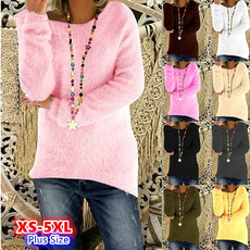 Autumn, Fashion, pullover sweater, Long Sleeve