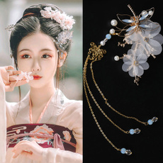 butterfly, dragon fly, Tassels, Chinese