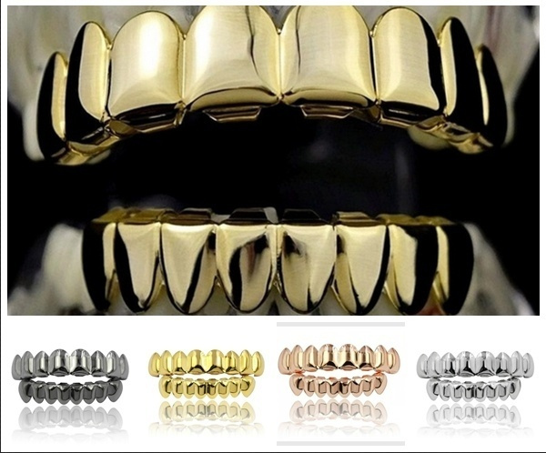 Copper, teethcap, Fashion, goldtoothcap