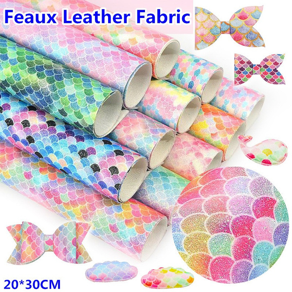 rainbow, Scales, Fabric, leather