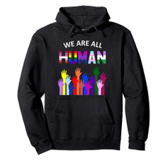 rainbow, hooded, Hoodies, gayhoodedsweatshirt