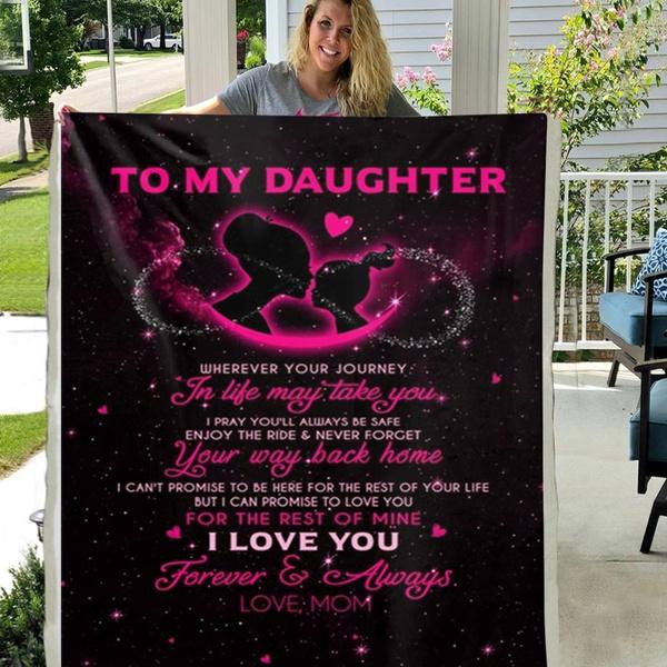 Fleece, daughter, Home Decor, Gifts