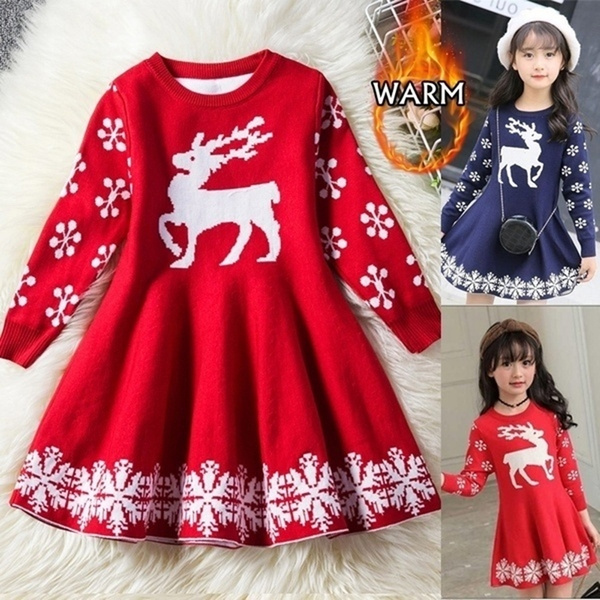 knitted, Fashion, Christmas, snowflakedre