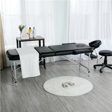 Spa, adjustablemassagebed, multifunctionmetalspatable, foldingtattootablearmchair