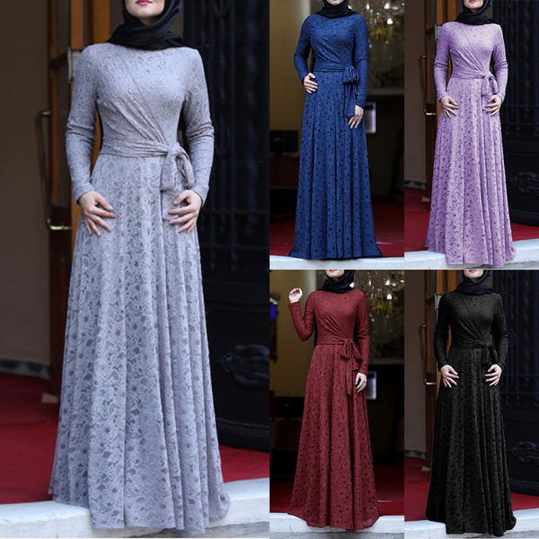 muslimabay, Plus Size, Lace, Sleeve