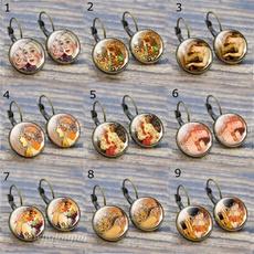 motherearring, art, Stud Earring, Glass
