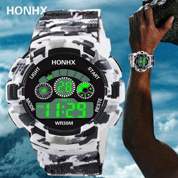 electronicmenwatch, led, honhx, Waterproof