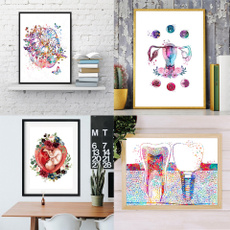 canvasprint, posters & prints, watercolordecoration, Gifts