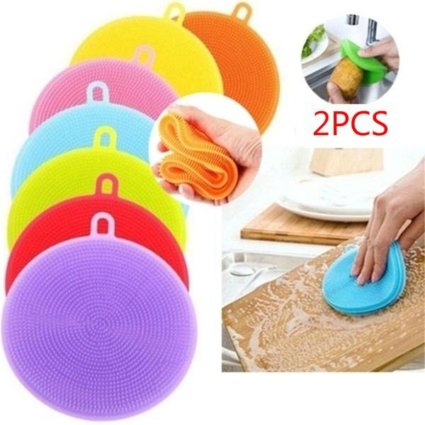 Kitchen & Dining, dishwashing, cleaningsponge, Silicone