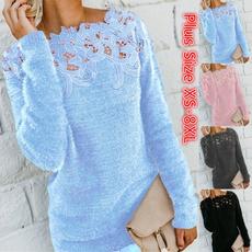Women Sweater, knitted sweater, sweater coat, Long Sleeve