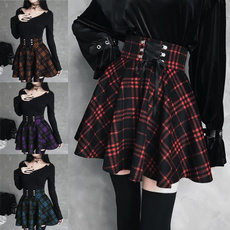Mini, Goth, Moda, redskirtwomen