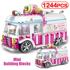 building, Mini, Fashion, pink