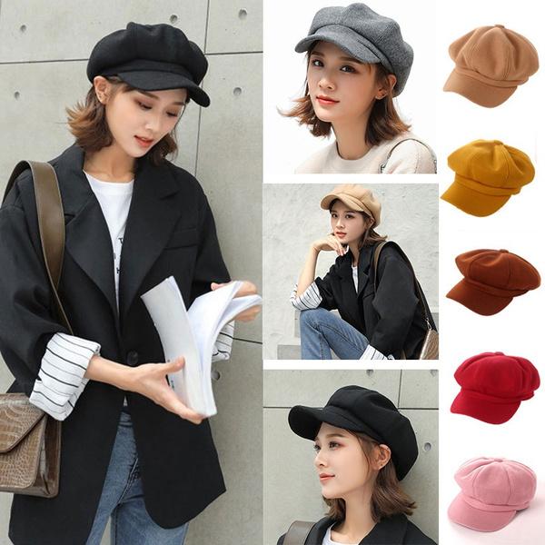 Newsboy Caps, winter hats for women, toucafeminina, hats for women