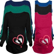 breastfeeding tops, Plus Size, Shirt, long sleeved shirt