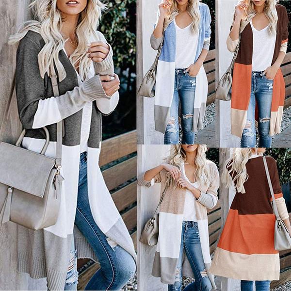 longcoatforwomen, Fashion, sweatercardigan, Sleeve