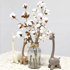 Decor, Home & Office, Floral, cottonstemsflower