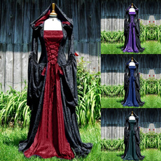 GOTHIC DRESS, Plus Size, Cosplay, renaissandre
