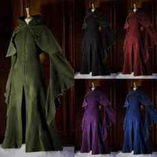 Fashion, Medieval, halloweencloak, Dress