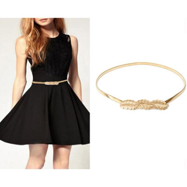 waiststrap, Fashion Accessory, elastic belt, gold