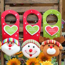 snowman, doorhanging, Door, Christmas