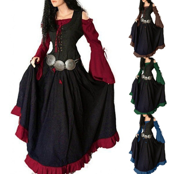 Goth, Plus Size, Lace, women dresses