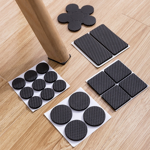 Chair Leg Pads Floor Protectors For, Rubber Pads For Under Furniture Legs